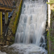 Foto Stock: Waterfalls, blurred motion