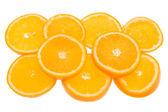 Slice orange — Stock Photo