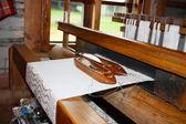 Old loom — Stock Photo