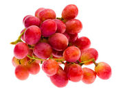 Red grape, isolated — Stock Photo