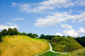 Hills, summer, Lithuania — Stock Photo