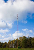 Cellular communications tower — Stock Photo