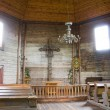 Interior of old church - Foto Stock