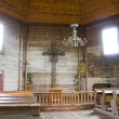 Interior of old church - ストック写真
