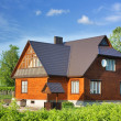 Country house, cottage — Stockfoto