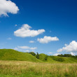 Stock Photo: Green hills
