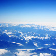Stock Photo: Mountains, view from airplane
