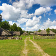 Stock Photo: Old Lithuanivillage