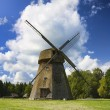 Old windmill, a rural landscape - Stock Photo