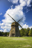 Old windmill, a rural landscape — Stock Photo
