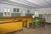 Classroom in the old school — Stock Photo