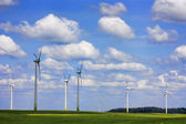 Field of wind power — Stock Photo