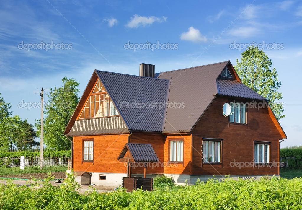 Country house, cottage — Stock Photo #1091048