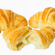 Croissant, isolated on white — Stock Photo #1343521