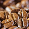 Coffee beans, close-up - Stock Photo