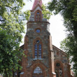 Stock Photo: Gothic church, Lithuania