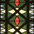Stock Photo: Stained glass in church