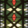 Stained glass in church — Stock Photo