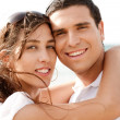 Love couple Hugging - Stockfoto