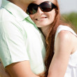 Beautiful Couple hugging — Stock Photo #1144365