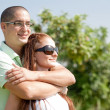 Young couple hug — Stock Photo #1144388
