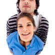Happy young couple — Stock Photo #1147766