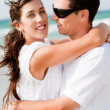 Couple hugging passionately — Foto de Stock   #1148561
