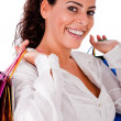 Woman with shopping bag — Stock Photo #1149661