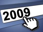 2009 internet concept — Stock Photo