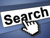 Search the internet — Stock Photo