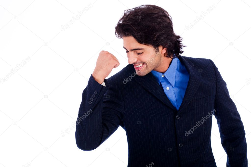 Portrait of Handsome successful business man  — Stock Photo #1148201
