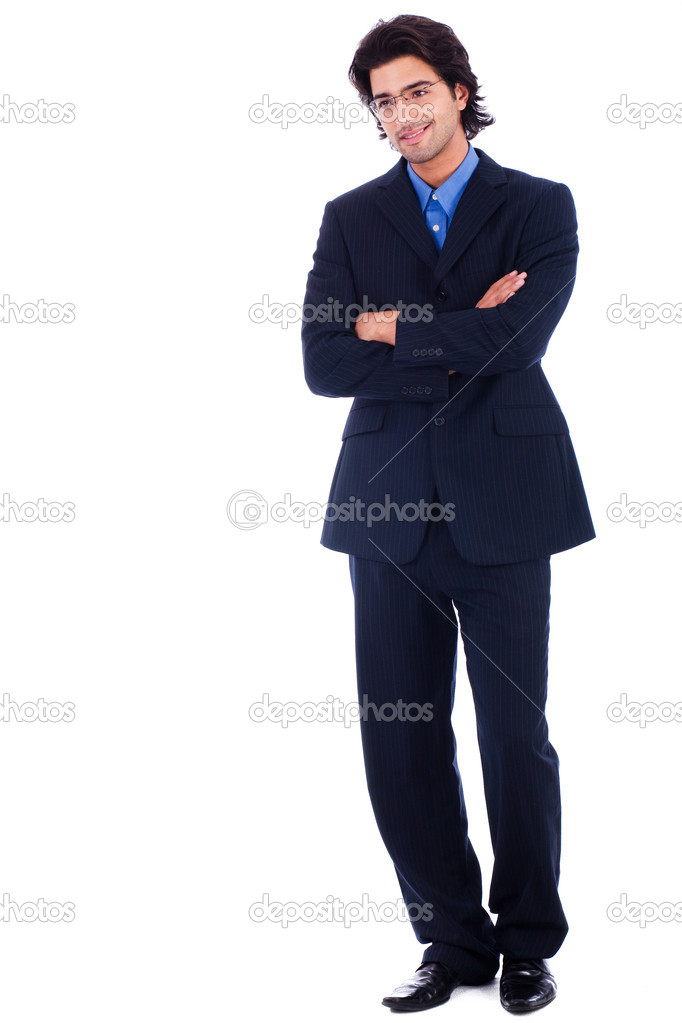 Handsome successful business man  Stock Photo #1148210