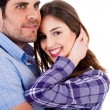 Stock Photo: Young couples enjoying their love