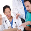 Royalty-Free Stock Photo: Group of doctors working together