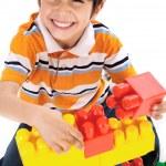 Cute little boy play — Stock Photo