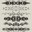 Royalty-Free Stock Imagem Vetorial: Collection pattern for design