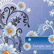 Royalty-Free Stock Imagen vectorial: Abstract floral background