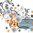 Royalty-Free Stock Vector Image: Flowers frame
