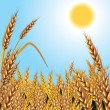 Royalty-Free Stock Vector Image: Wheat. Background