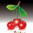 Royalty-Free Stock Векторное изображение: Sweet cherries