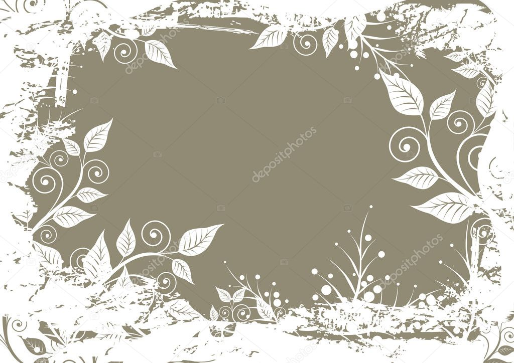 Abstract floral background  — Stock Vector #1290634