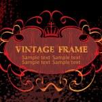 Vintage frame — Stock Vector #1384583