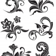 Vintage patterns for design - Stock Vector