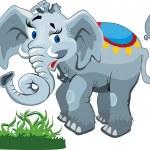 Elephant — Stock Vector #2388157