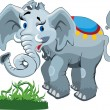 Elephant — Stock Vector