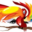 Beautiful parrot — Stock Vector #2388394