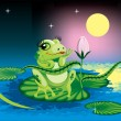 Frog - Imagens vectoriais em stock