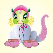 Baby dinosaur — Stock Vector