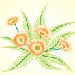 Floral pastel vector - 