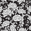 Seamless floral background — Grafika wektorowa
